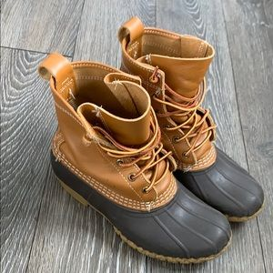 LL bean bean boots size 6 women's